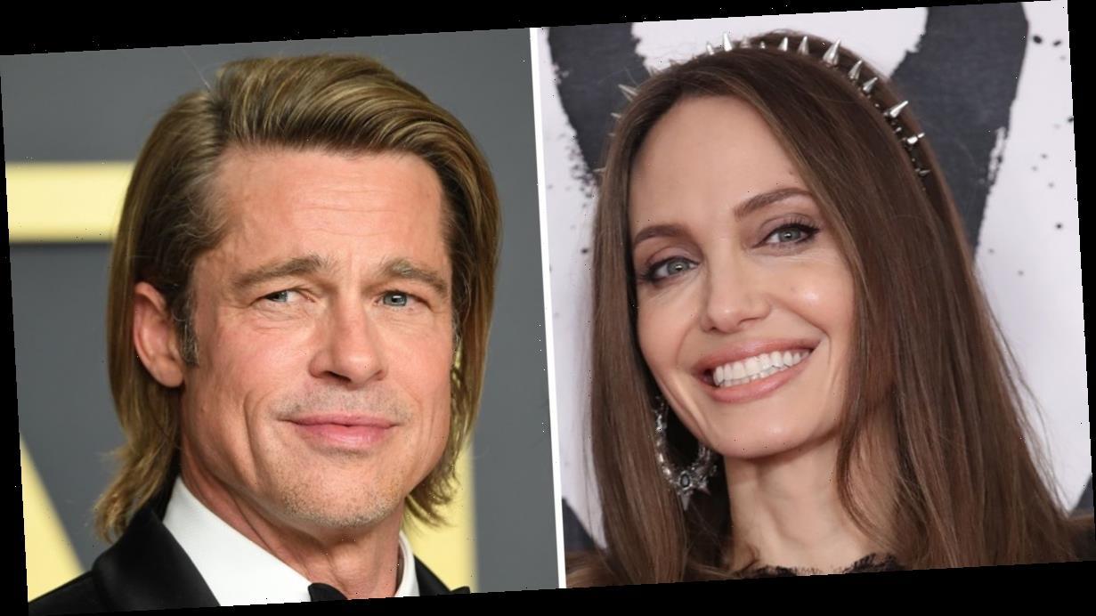 Brad Pitt and Angelina Jolie 'reunite' following Jennifer Aniston romance rumours