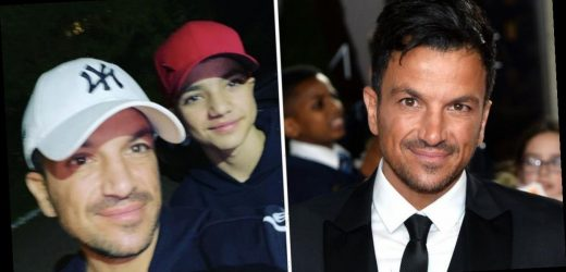 Peter Andre admits he's at 'breaking point' after homeschooling children for just two days
