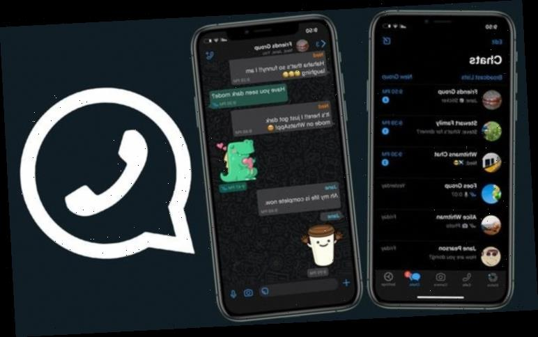 WhatsApp dark mode is out now on iPhone and Android to boost your battery life