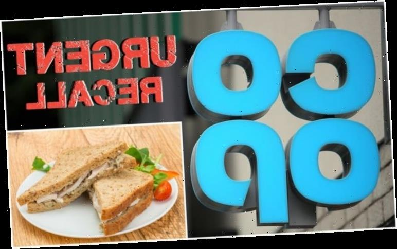 Co-op issue urgent food recall on popular sandwich over metal fears – check affected item