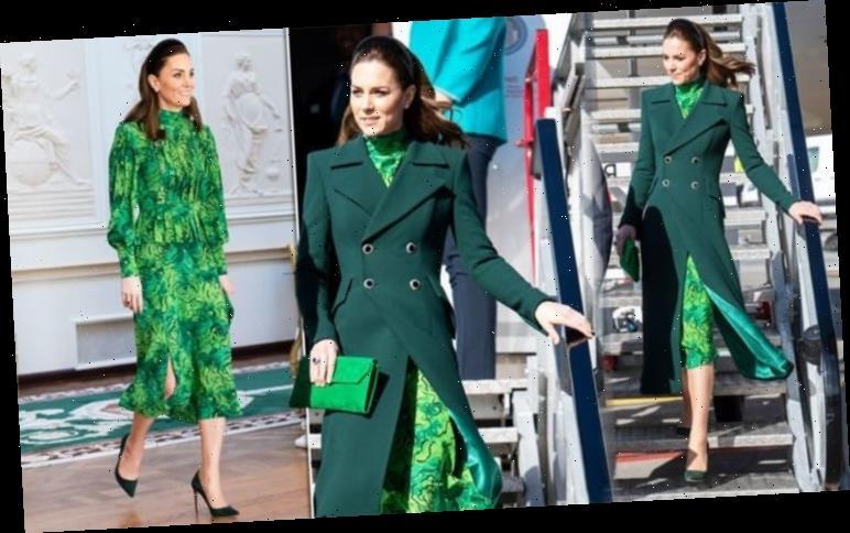Kate Middleton mocked for dressing like Aer Lingus cabin crew after arriving in Ireland