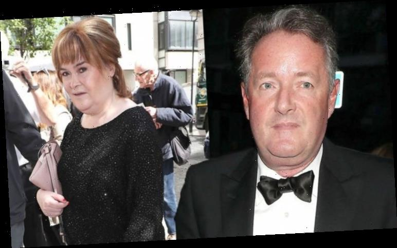 Piers Morgan talks Susan Boyle's 'crush' on him amid 'sniping' from colleague over big win