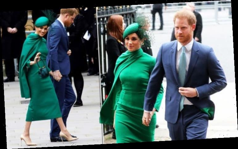 Meghan Markle wears eye-catching green to last official royal engagement