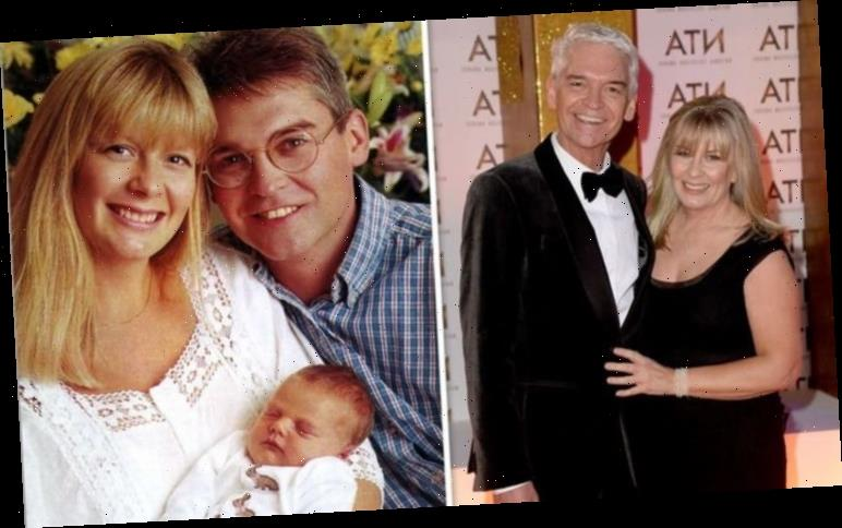 Phillip Schofield: Secret relationship beginnings with future wife Stephanie unearthed