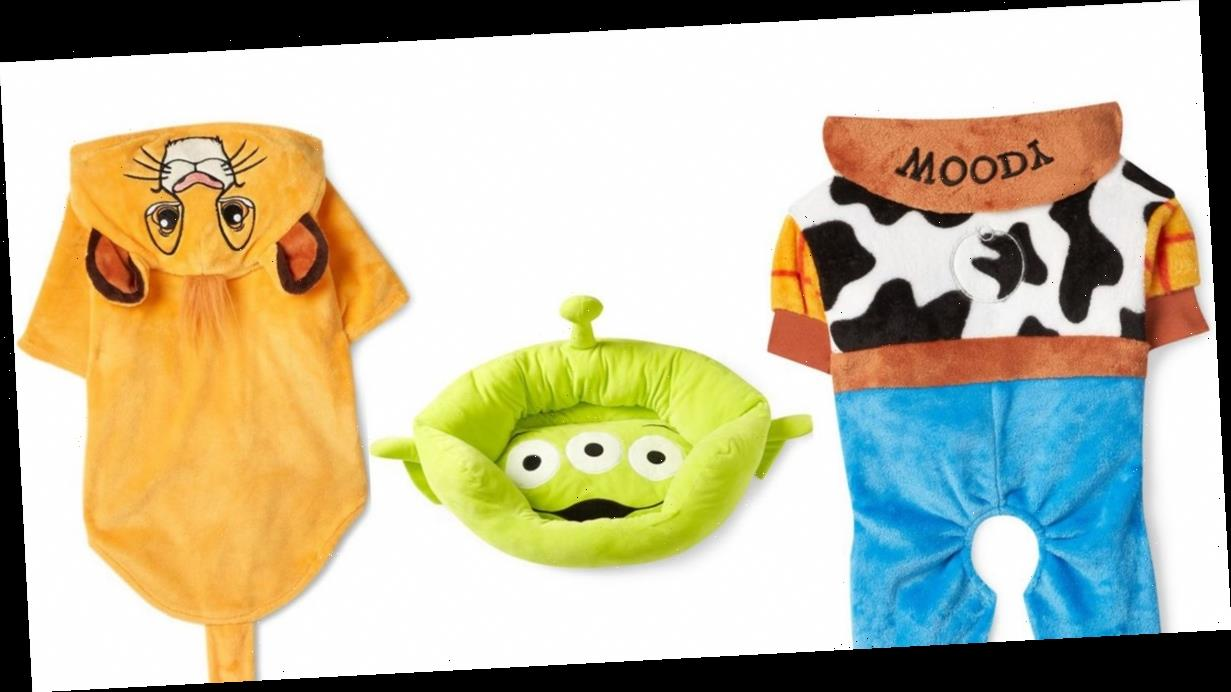 Primark have released Disney themed pet range including Toy Story onesies and Mickey Mouse chew toys