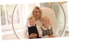 Mummy Diaries' Billie Faiers left red-faced as son Arthur, 2, swears during photoshoot