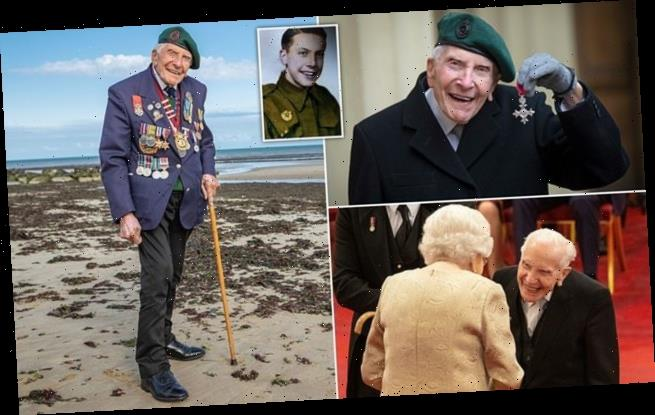 ROBERT HARDMAN: D-Day veteran Harry Billinge dedicates MBE to comrades