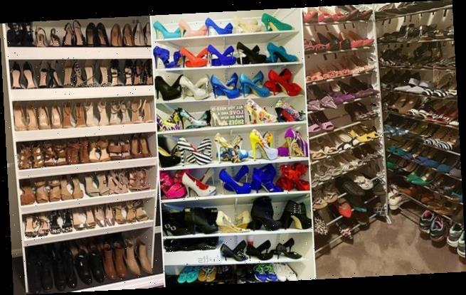 Carrie would be proud! Women show off incredible shoe wardrobes
