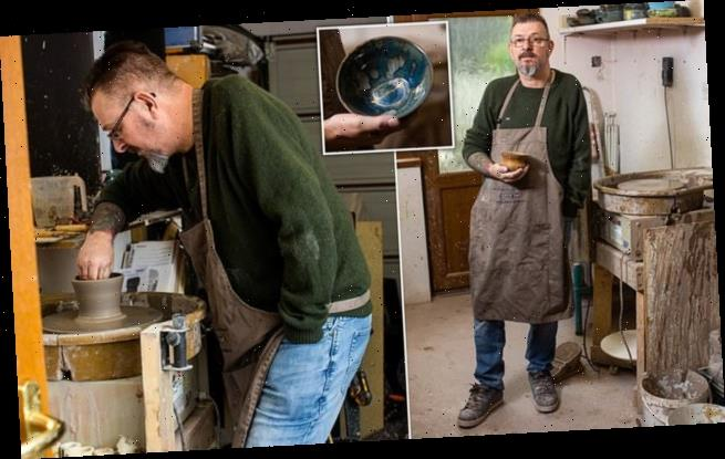 Military veteran finds his passion in pottery