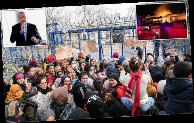 Erdogan tells Greece to let migrants across border