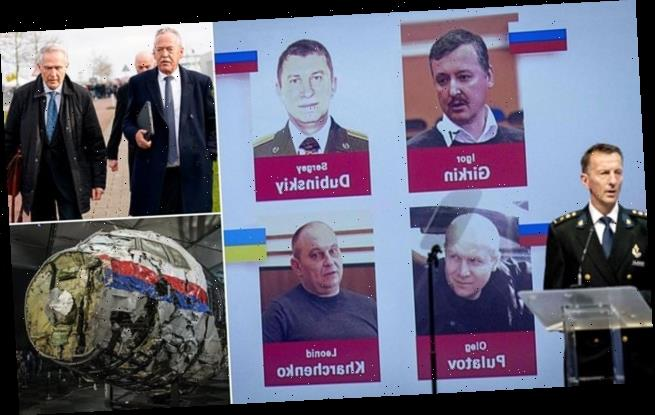 Pro-Russia militia men accused of shooting down MH17 go on trial