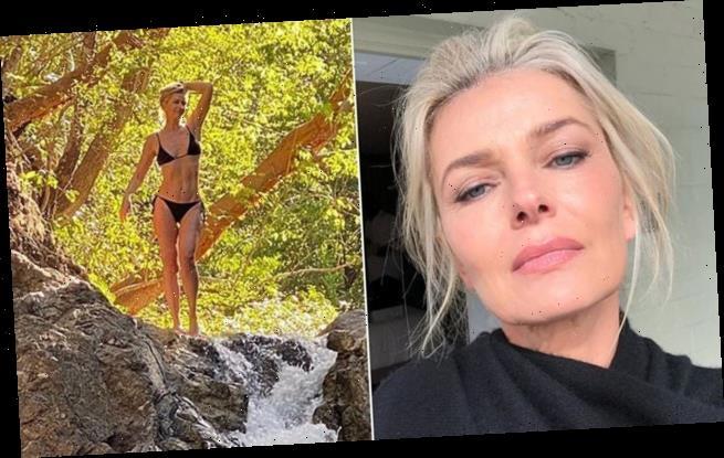 Model Paulina Porizkova shares sexy bikini photo in Costa Rica
