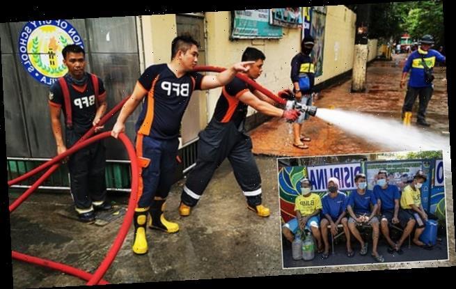 Manila is locked down to stop coronavirus spread