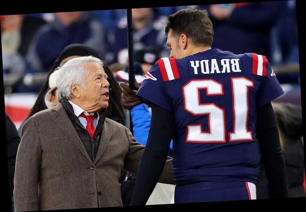 Robert Kraft won't interfere with Tom Brady-Bill Belichick negotiations