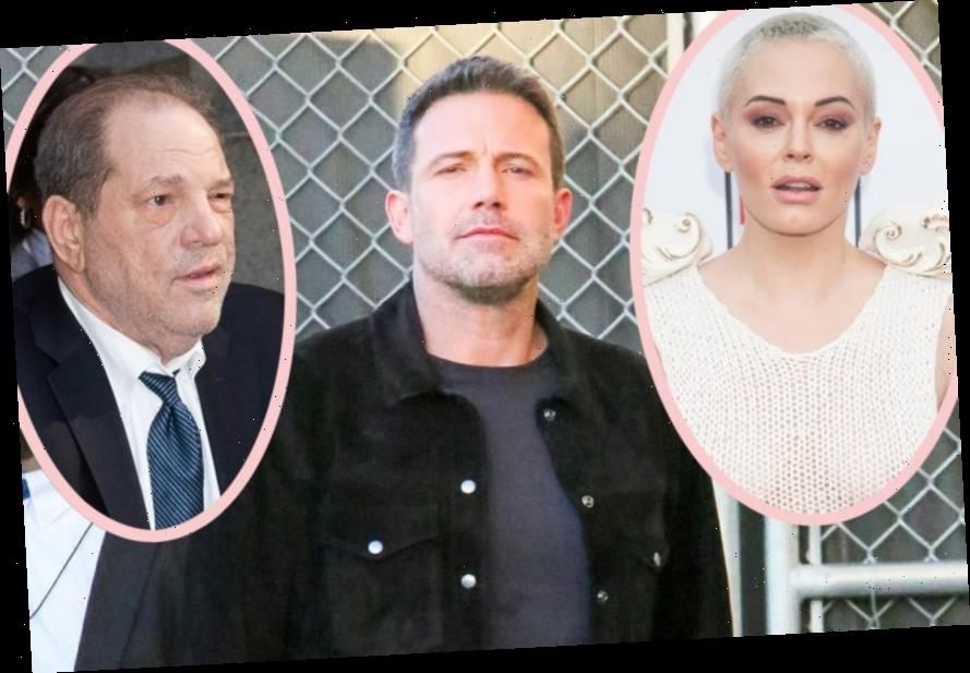Rose McGowan Calls Out Ben Affleck (And His Fake Teeth) After Evidence Suggests He KNEW About Harvey Weinstein