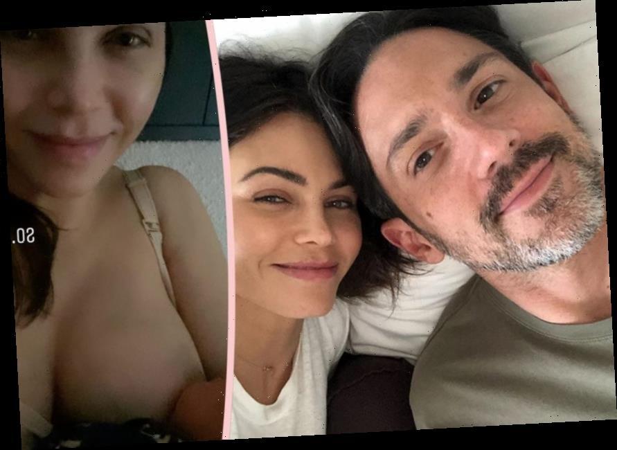 Jenna Dewan Shares Breastfeeding Pic & Steve Kazee Explains The Sweet Origin Of His Baby Boy's Name