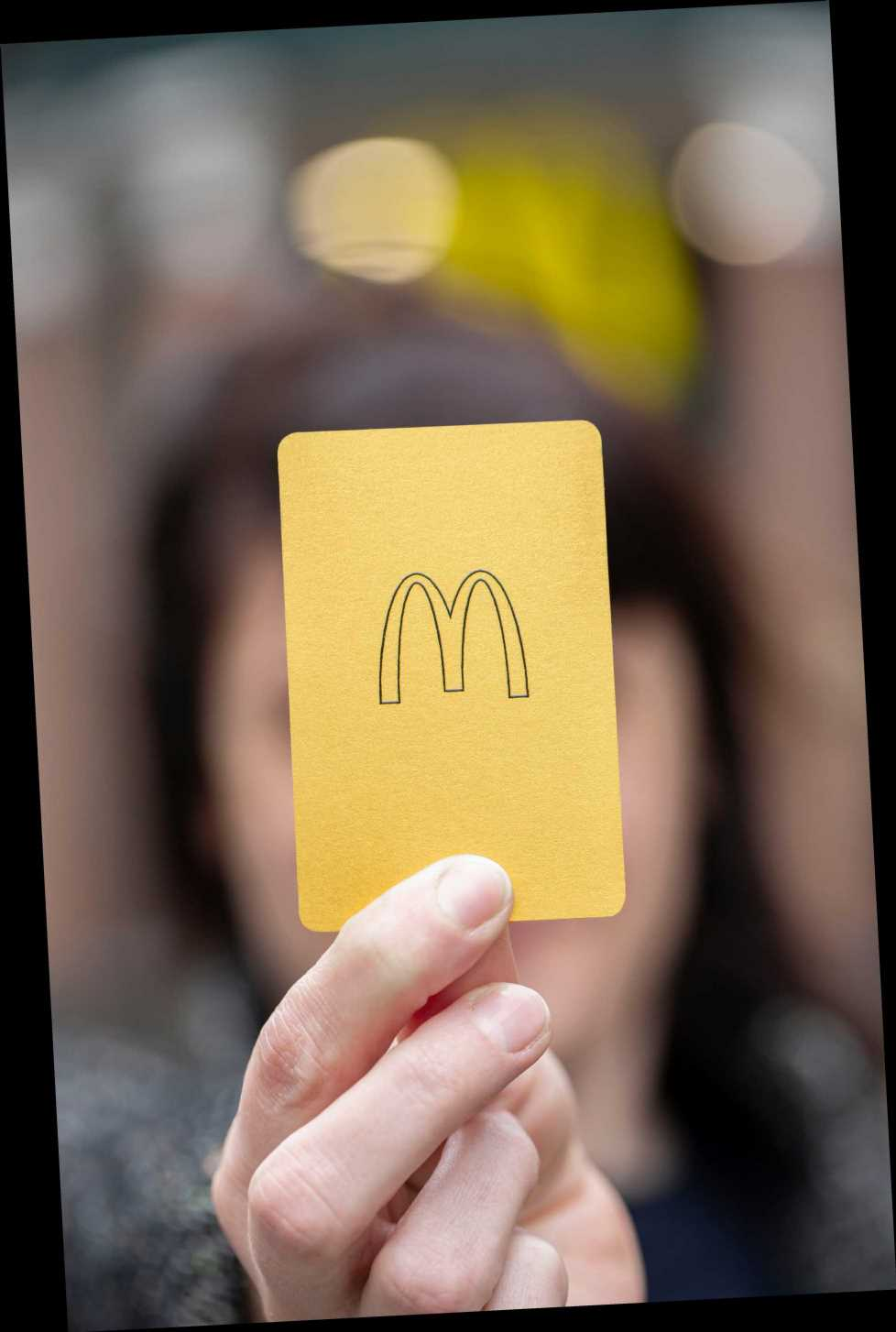 McDonald's is launching a gold VIP card and you could win one by playing Monopoly