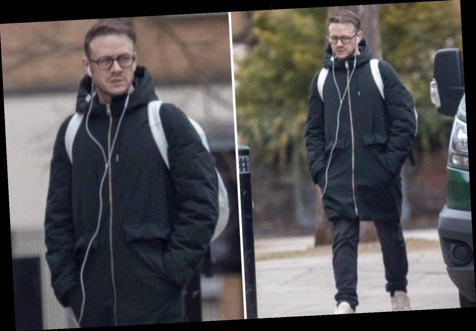 Kevin Clifton looks downcast as he's seen for the first time since quitting Strictly – The Sun