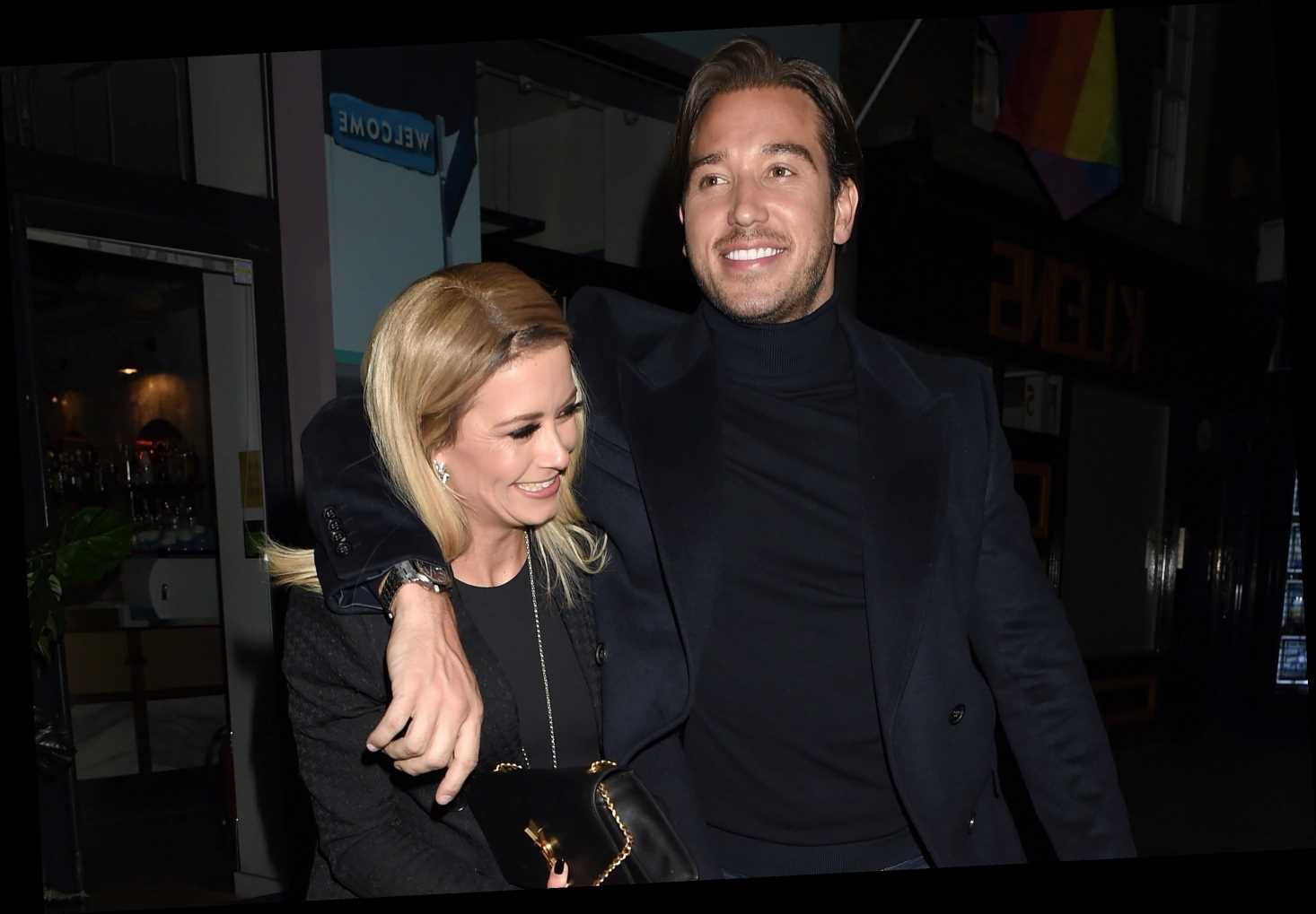 James Lock and Olivia Bentley look cosy as they leave Celebs Go Dating dinner together – The Sun