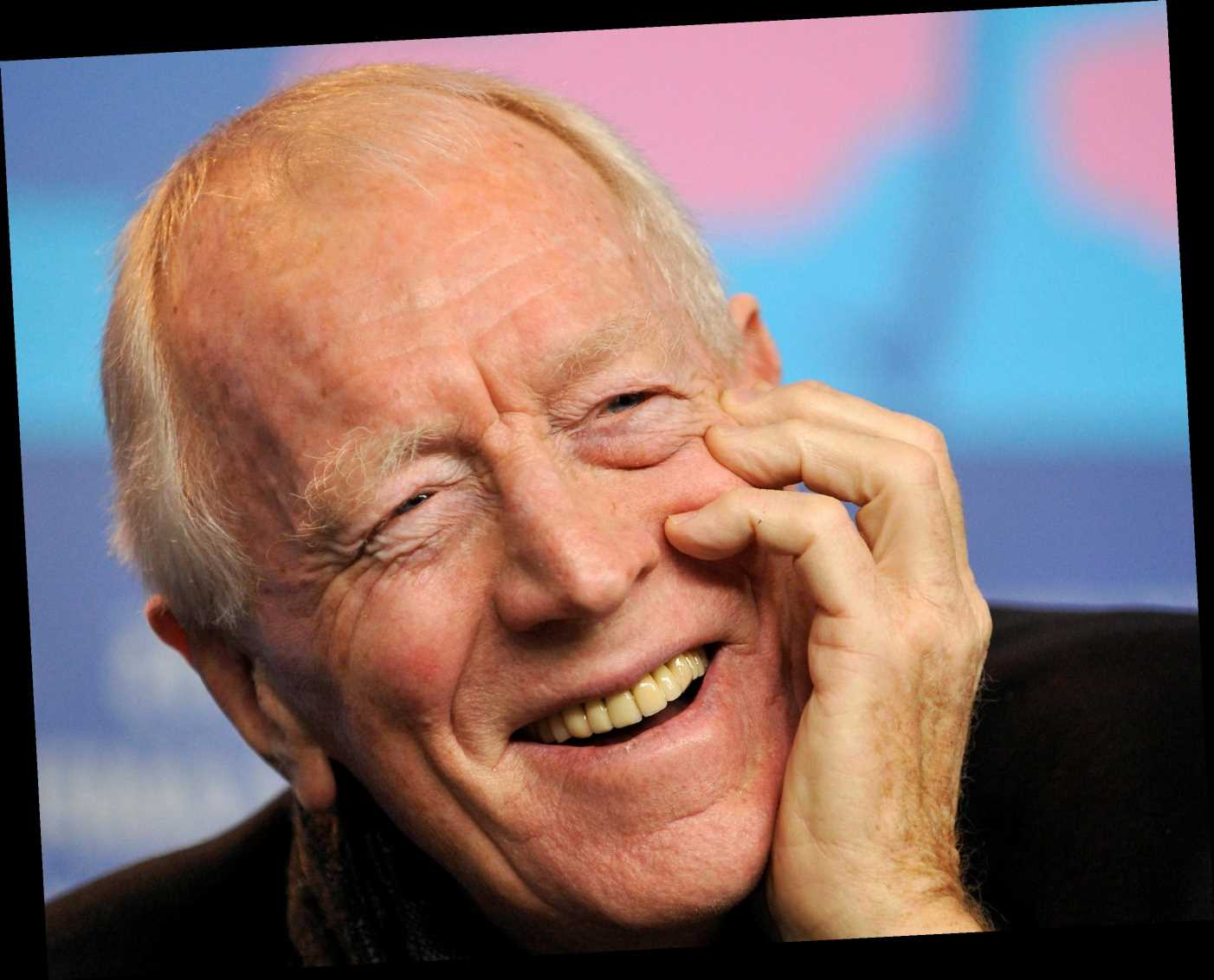 Who was Max von Sydow's wife and how many children did he have? – The Sun