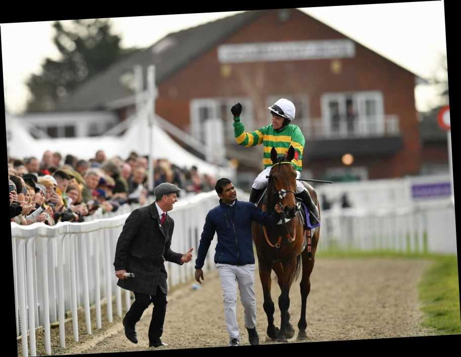 Champ gets up late in the day under Barry Geraghty to gub Minella Indo in RSA Novices' Chase