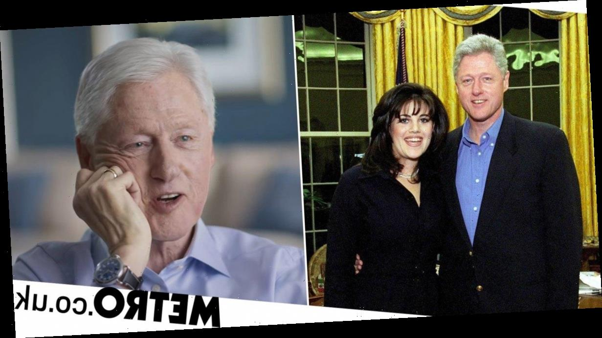 Bill Clinton says he had oral sex with Monika Lewinsky 'to relieve job pressure'