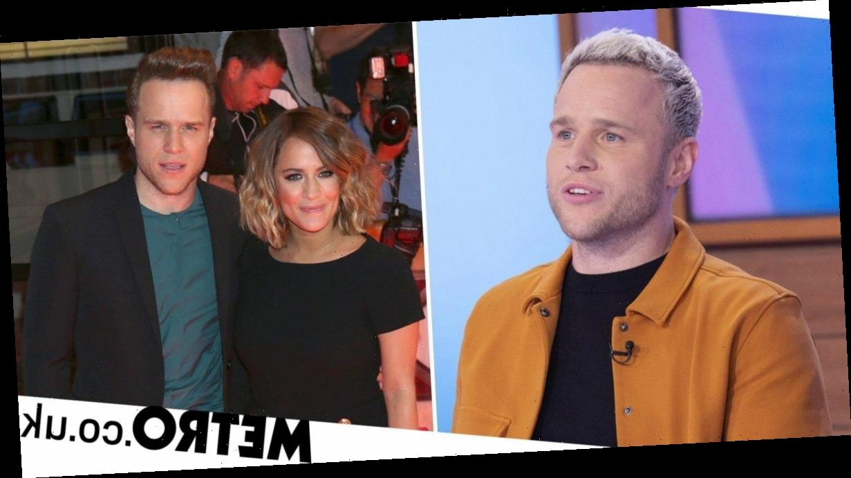 Olly Murs chokes up over Caroline Flack photo on Loose Women: 'It's been tough'