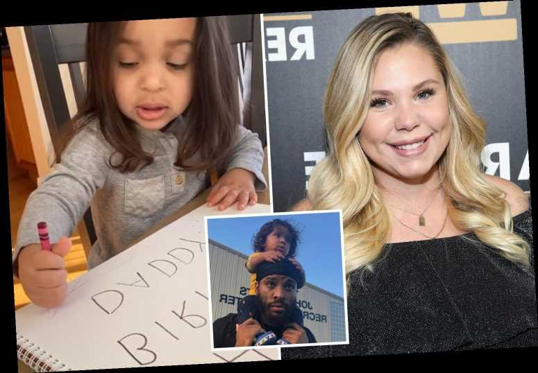 Pregnant Kailyn Lowry and son Lux make 'happy birthday Daddy' card for her baby daddy Chris Lopez despite nasty feud – The Sun