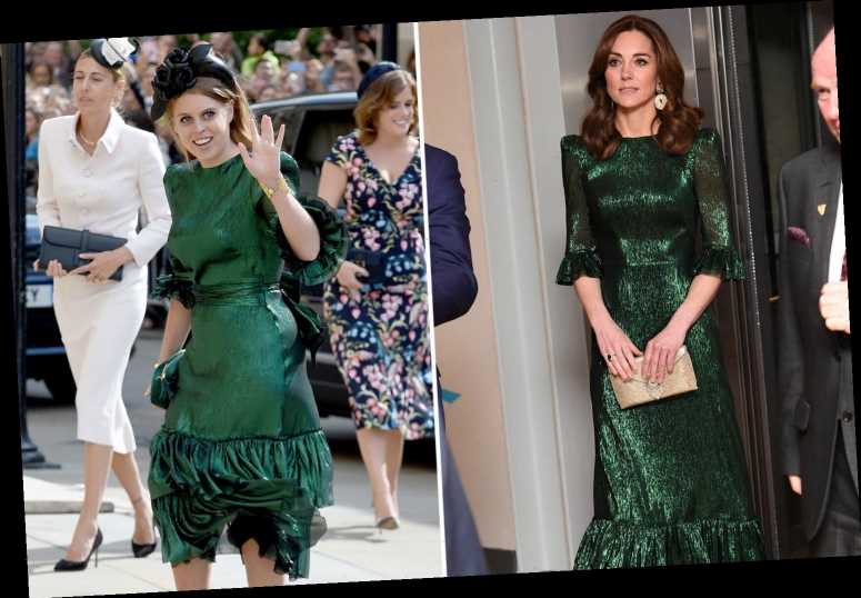 Kate Middleton mirrors Princess Beatrice in identical emerald dress in Ireland
