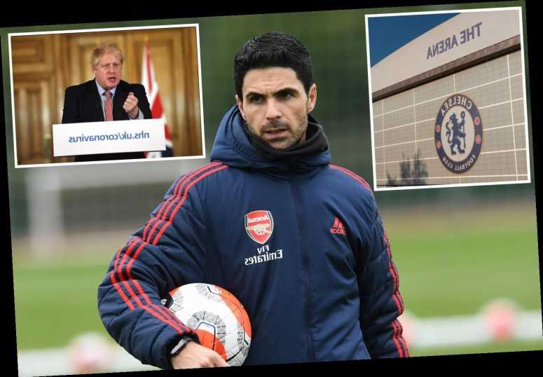 Football in crisis as Boris Johnson reveals UK sport facing ban and Arsenal boss Arteta tests positive for coronavirus – The Sun