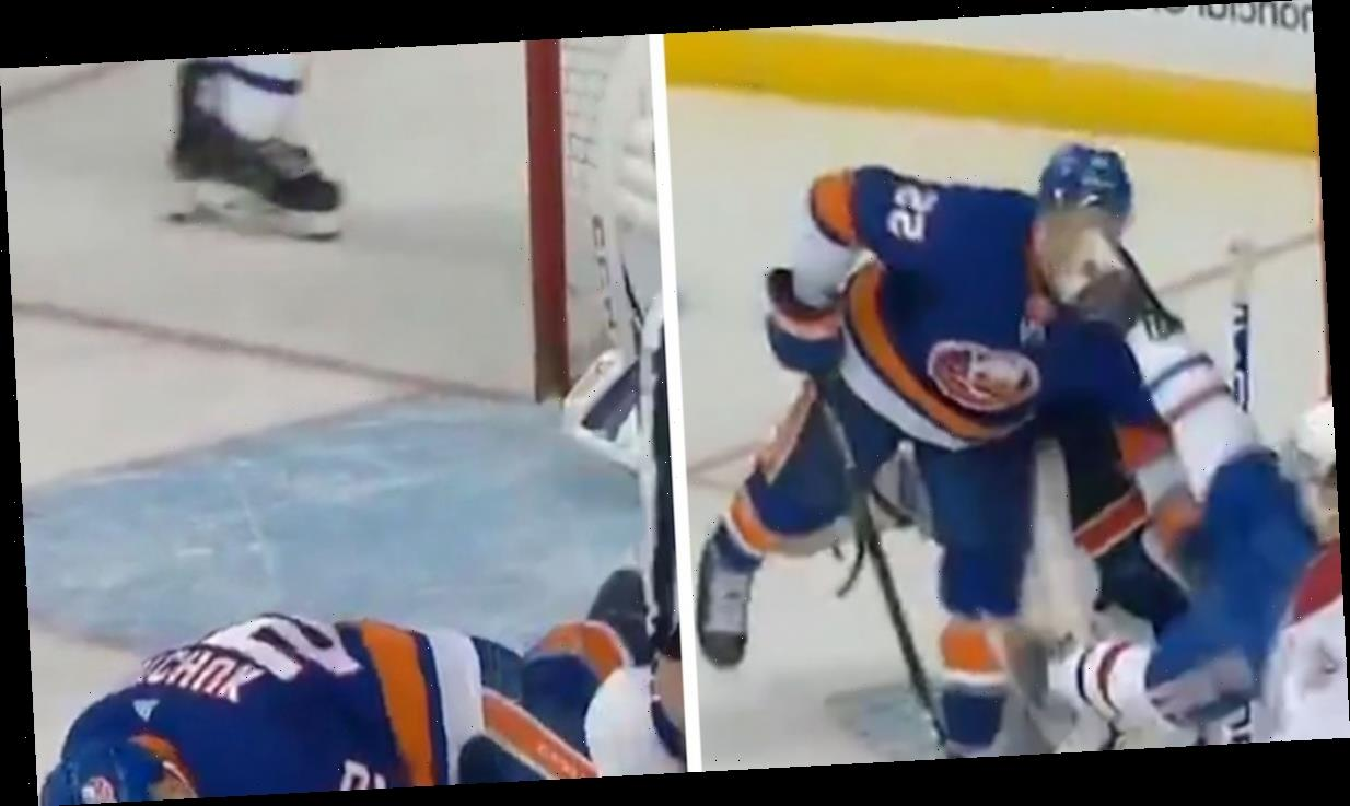 NHL's Johnny Boychuk Slashed In Eye With Skate, Took 90 Stitches To Repair