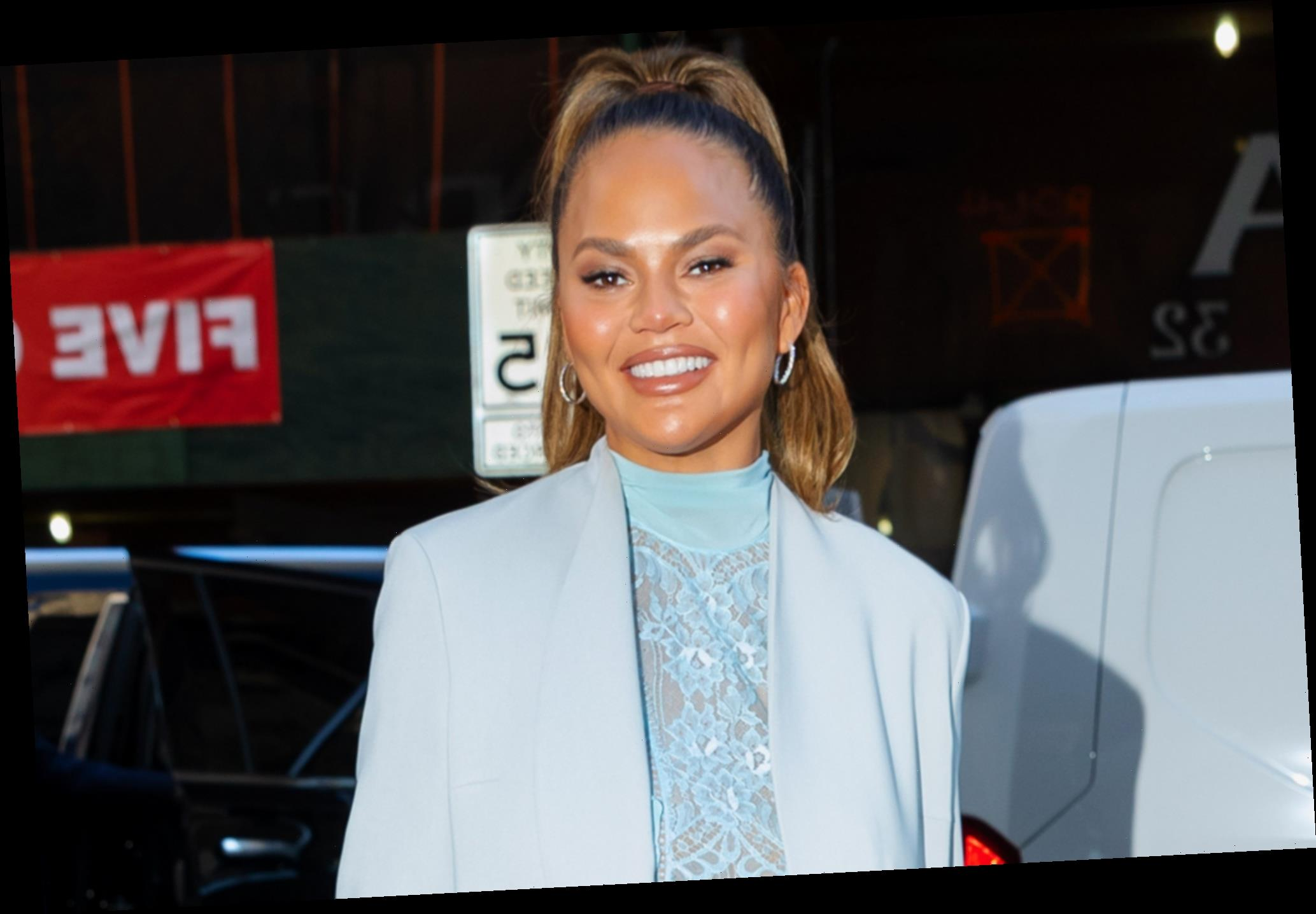 Chrissy Teigen reveals she had a boob job at the beginning of her career