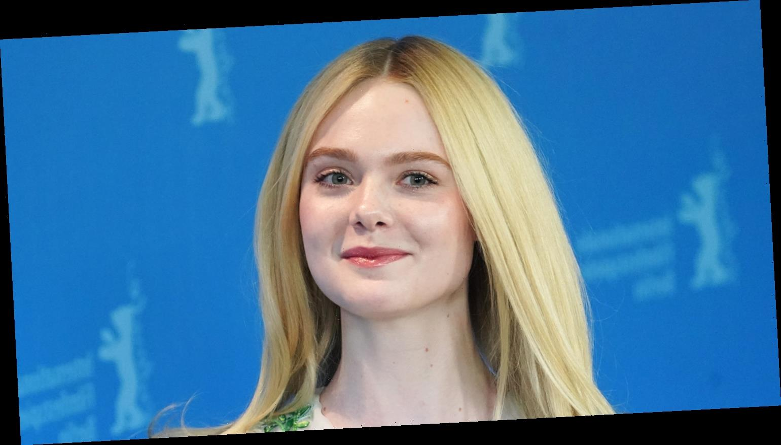 Elle Fanning's First Kiss Ever Is 'On Screen For Eternity'