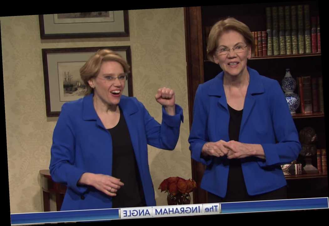 Watch Elizabeth Warren Make Surprise Cameo in 'SNL' Coronavirus Cold Open