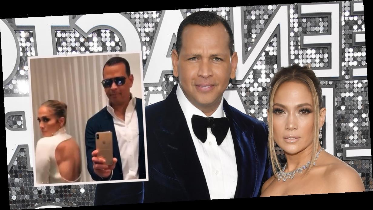 Watch J.Lo and A-Rod Hilariously Swap Outfits As They Take on TikTok's 'Flip the Switch' Challenge