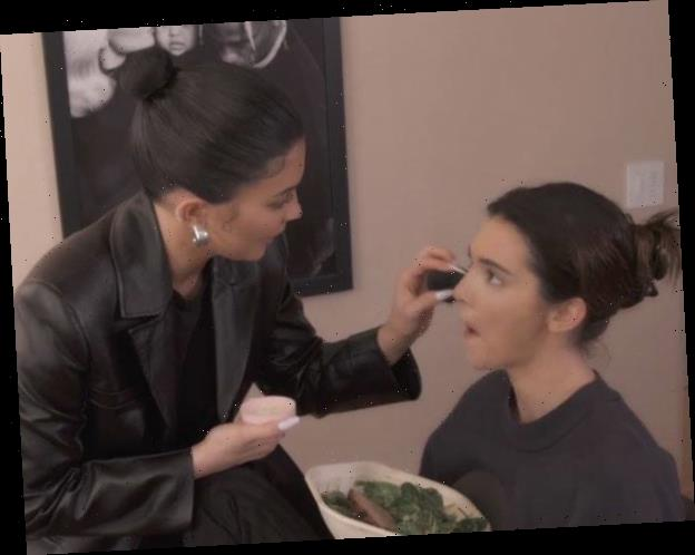 Watch Kylie Jenner Test Her Makeup Skills on Sister Kendall in KUWTK Sneak Peek