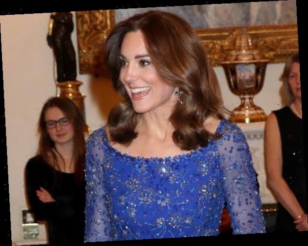 Kate Middleton Puts the Royal in Royal Blue at Palace Children's Gala