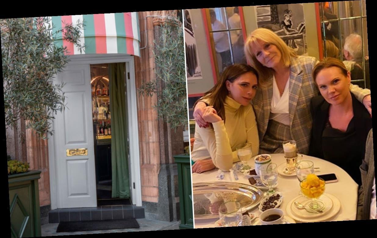 Inside the exclusive restaurant where Victoria Beckham celebrated her mum's birthday