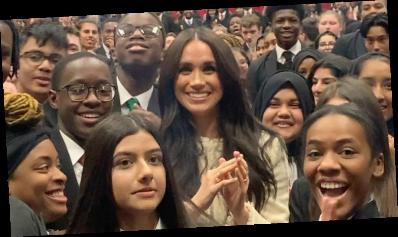 Meghan Markle Makes Special Appearance at Kids School