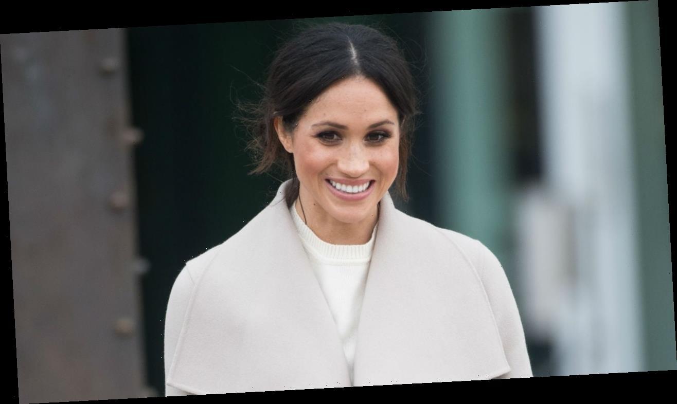 Meghan Markle Steps Out Smiling in 1st U.K. Sighting Since Royal Exit