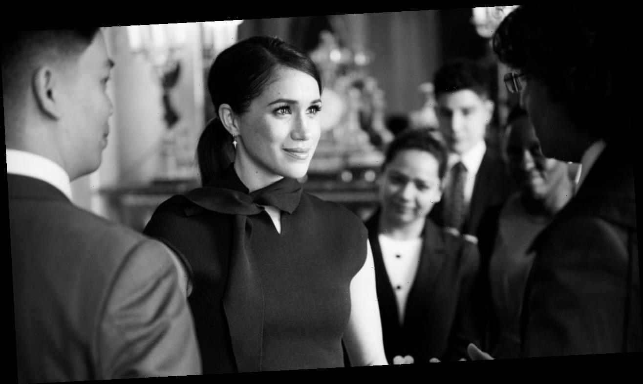 Meghan Markle Privately Met With a Group of Scholars: Pics
