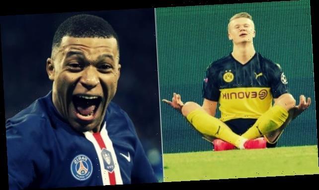 Kylian Mbappe and PSG mimic Erling Braut Haaland's celebration after beating Dortmund