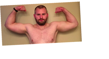 This Guy Trained His Arms Every Single Day for a Month