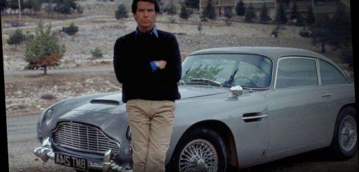 James Bond Star Pierce Brosnan Admits He Damaged 007's Aston Martin DB5 In Goldeneye