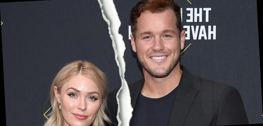Bachelor's Colton Underwood and Cassie Randolph Split