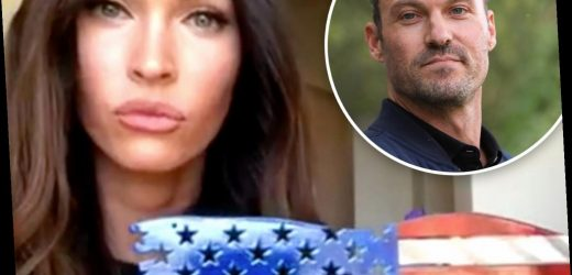 Megan Fox ditches wedding ring but calls Green her 'family name' after 'moving on' from ex Brian Austin Green with MGK – The Sun