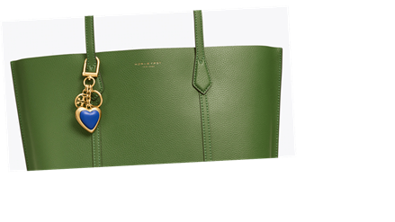 This Tory Burch Key Ring Adds a Touch of Love to Any Bag — Only $39!