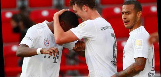 Bayern Munich 0-0 Frankfurt LIVE: Stream FREE, TV channel, kick-off time and team news for Bundesliga clash – The Sun