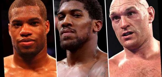 Ring Magazine ranks top 10 heavyweights with Tyson Fury No1 ahead of Anthony Joshua and Daniel Dubois 'on the cusp' – The Sun