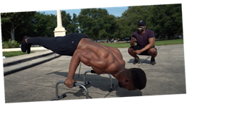 Watch This Guy Attempt to Break the World Record for Most Planche Pushups